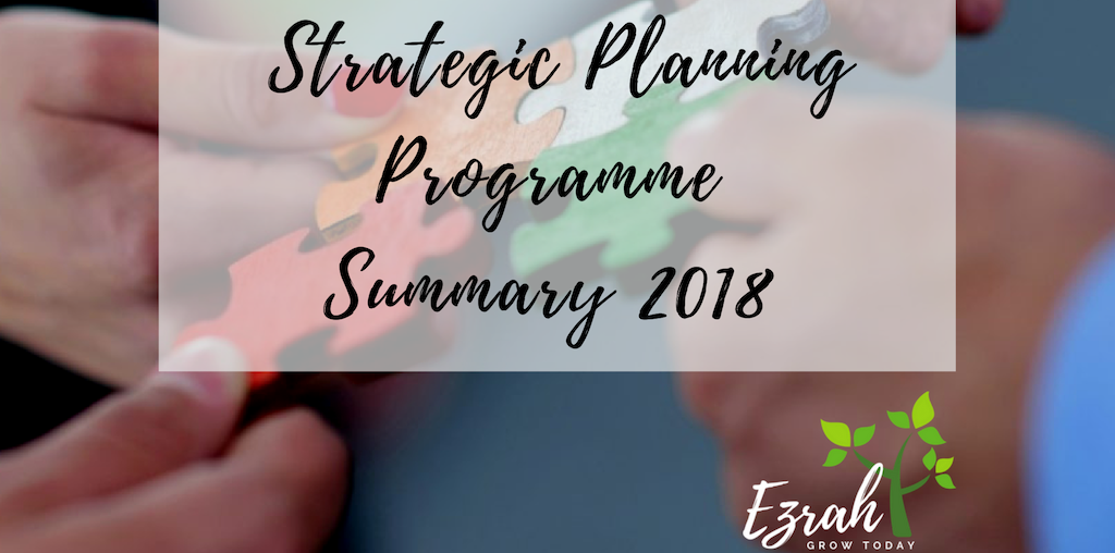 Strategic Planning Programme Summary 2018