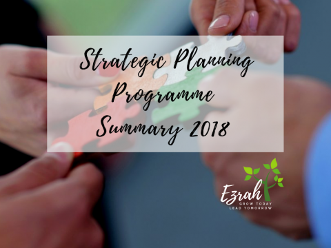 Strategic Planning Programme Summary 2018