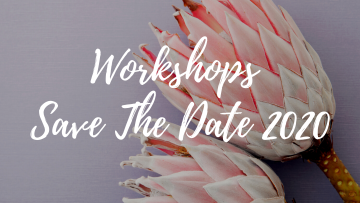 Workshop Dates 2020